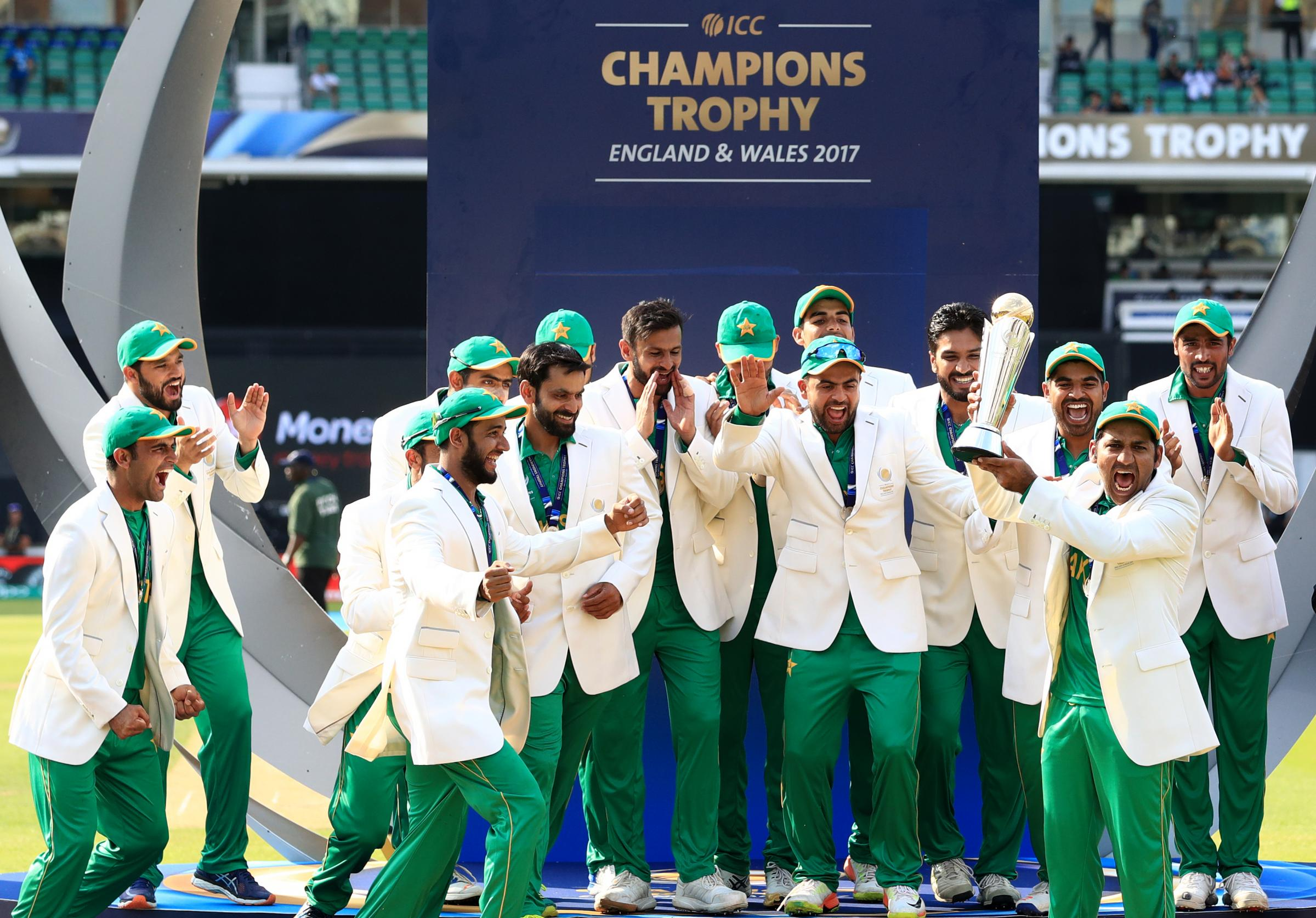 Pakistanis go wild after cricket triumph over India